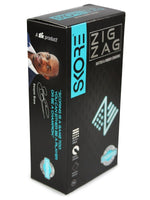 ItspleaZure Condom Skore Zig Zag Dotted & Ribbed Condoms Pack of 10