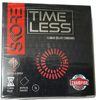 ItspleaZure Condoms Skore Timeless Climax Delay Condoms Pack 3