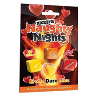 Buy ItspleaZure XXXtra Naughty Nights - Erotic Dare Dice for Rs. 749.00 at itspleaZure