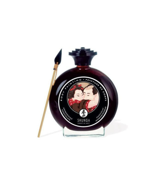 ItspleaZure Edible Products Shunga Erotic Art Chocolate Body Painting 100ML