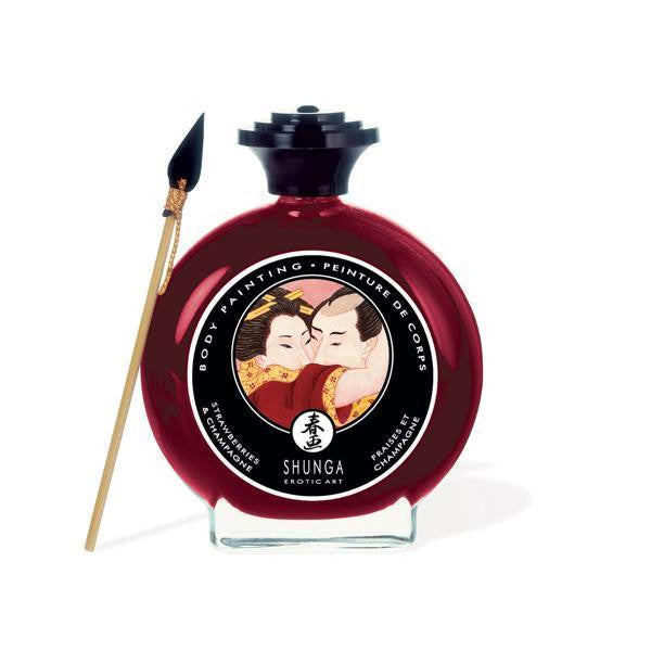 ItspleaZure Edible Products Shunga Erotic Art Strawberry Painting 100ML
