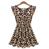ItspleaZure Women's Leopard Cotton Dress for  at itspleaZure