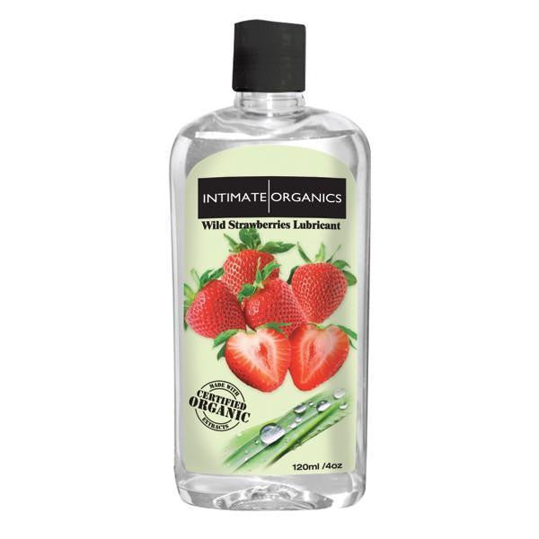 Buy Intimate Organics Wild Strawberry Warming lube Lubricant - 120 ML for  at itspleaZure