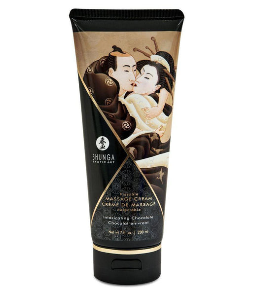 Buy ItspleaZure Shunga Kissable Massage Cream Intimate Chocolate 200 ml for  at itspleaZure