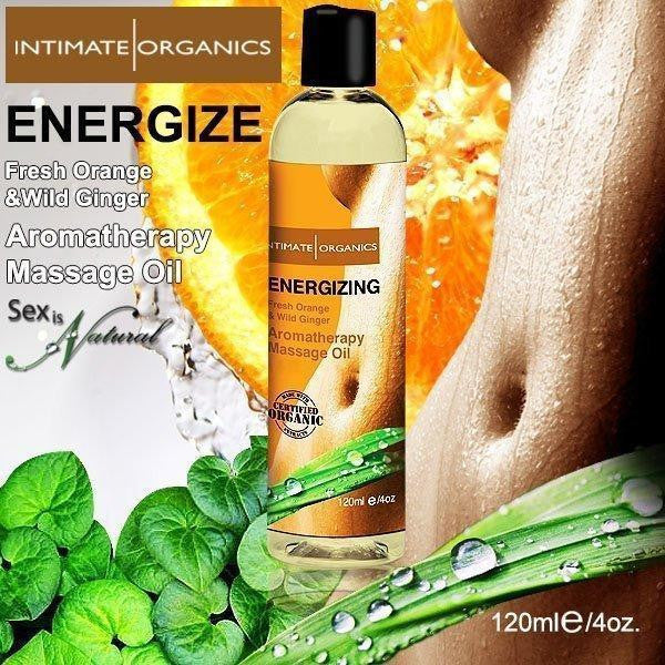 ItspleaZure Massage Oils Intimate Fresh Orange & Wild Ginger Massage Oil 120ML