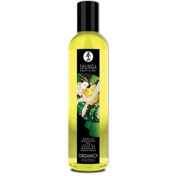 ItspleaZure Shunga Erotic Massage Oil - Green Tea for  at itspleaZure