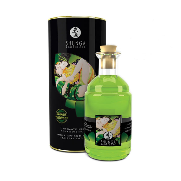 ItspleaZure Massage Oils ItspleaZure Shunga Green Tea Intimate Aphrodisiac Oil - 100ml