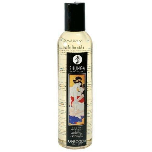 Shunga Erotic Art Massage Oil Aphrodisia Rose 250ML for  at itspleaZure