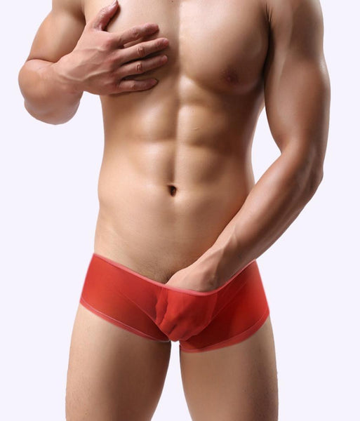 ItspleaZure Poseidon Men's Mesh Boxers Red for  at itspleaZure