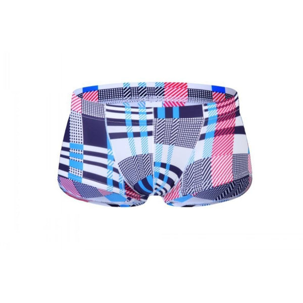 ItspleaZure Classic Sexy Blue Checked Brief for  at itspleaZure