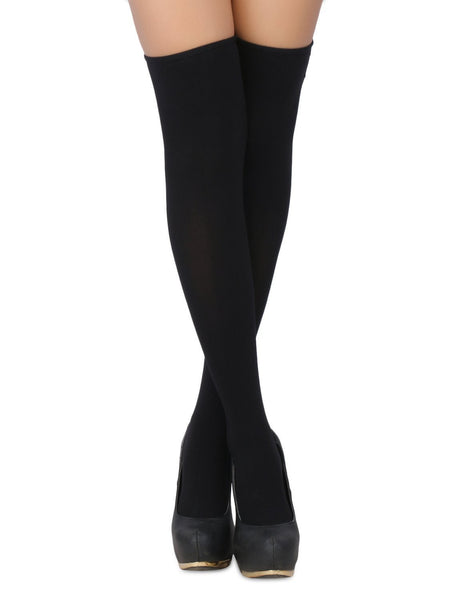 Buy ItspleaZure Women's Bow Accent Sheer Thigh High Stockings & Free Thong (Freesize_Q2MBS083_ARBT) for  at itspleaZure