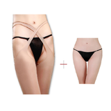 Buy ItspleaZure Women's Suspender Tights Nude for  at itspleaZure