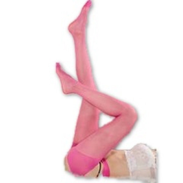 Buy ItspleaZure Women's Suspender Tights Pink for  at itspleaZure