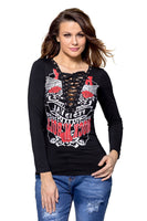 products/it-spleazure-top-it-spleazure-woman-s-black-printed-lace-up-v-neck-long-sleeve-shirt-2627097854041.jpg