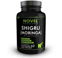 ItspleaZure attrection Novel Nutrients Shigru (Moringa) 60 Capsules - 450 mg