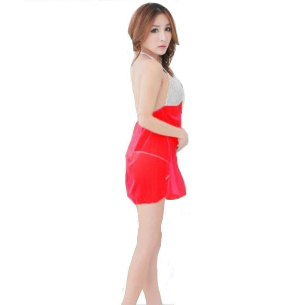 ItspleaZure Women's Red babydoll Q2LCL008RD for  at itspleaZure