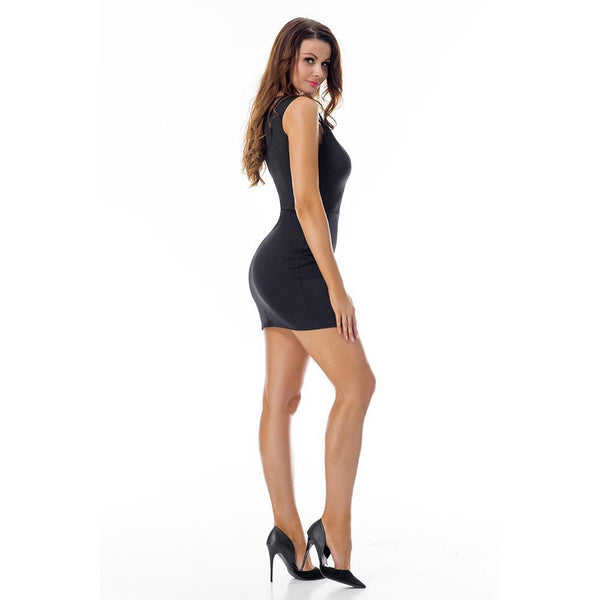 ItspleaZure Black sexy sleeveless bodycon party wear dresses for women for  at itspleaZure