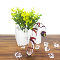 Buy ItspleaZure Red Candy Cane Glass Crystal Dildo for Rs. 2699.00 at itspleaZure