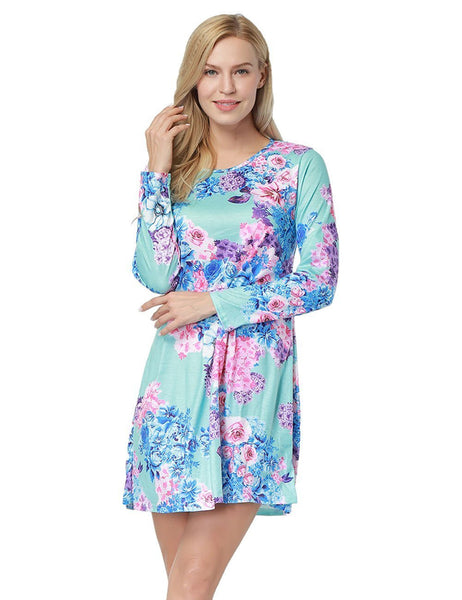 ItspleaZure Floral Print Mini Ruffle Party wear Dress for women for  at itspleaZure