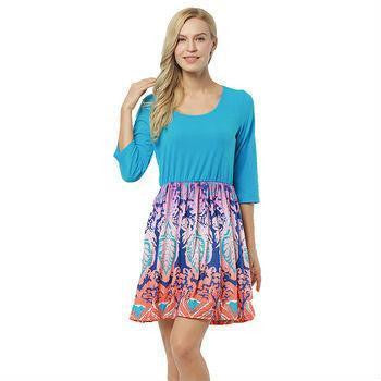 ItspleaZure Printed Short Sleeve Mini party wear dress for women for  at itspleaZure