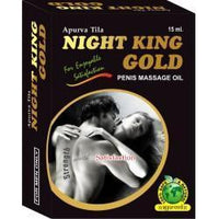 Night King Gold Oil 15ML for  at itspleaZure