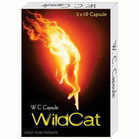 Wild Cat Capsules 5 X 10 for  at itspleaZure