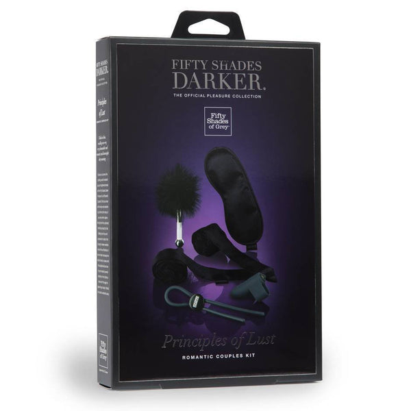 ItspleaZure Sex Toy Fifty Shades Darker Principles of Lust Romantic Couples Kit