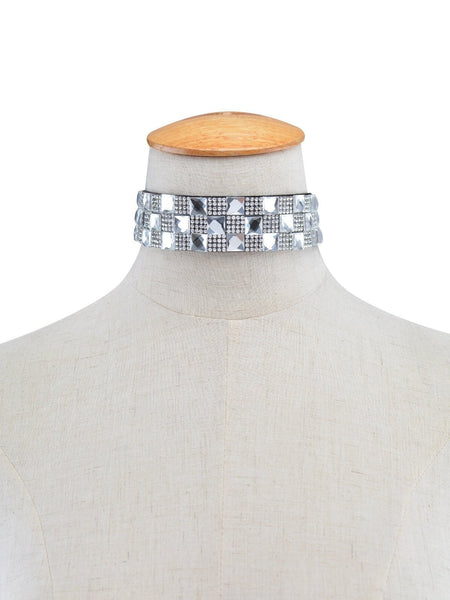 ItspleaZure Rhinestone Choker for  at itspleaZure