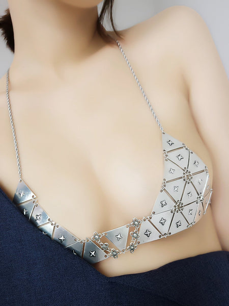 ItspleaZure Vintage Chain Necklace Bikini Sexy Nipple Jewelry for  at itspleaZure