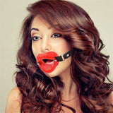 ItspleaZure Pleasure Me Red Mouth Gag for  at itspleaZure