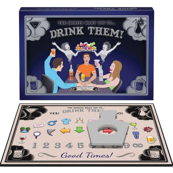 The Spirits Want You To Drink Them Game