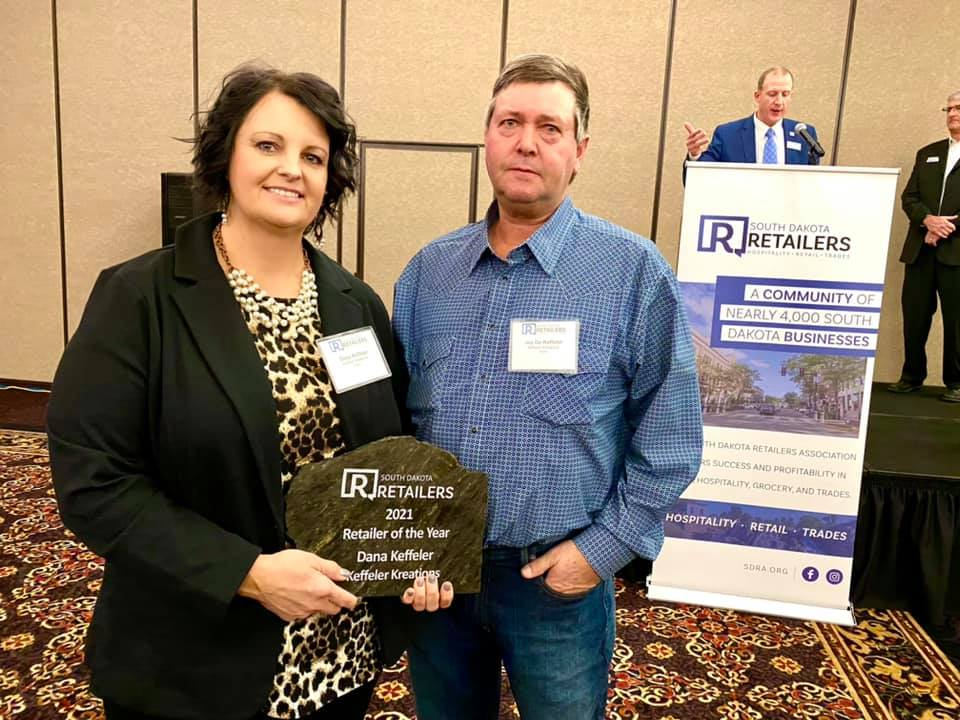 Keffeler Kreations 2021 South Dakota Retailer of the Year