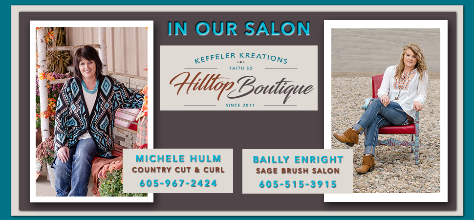 Keffeler Kreations | Hair Salon | Faith, SD