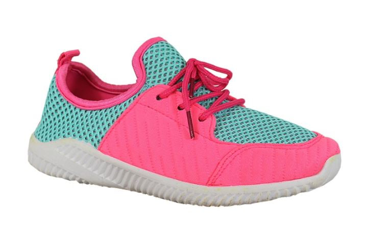 Girl's Pink Tennis Shoes