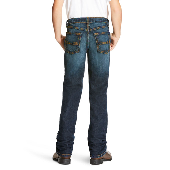 Ariat Boys B5 Slim Fit Legacy Stretch Stackable Straight Leg Jean