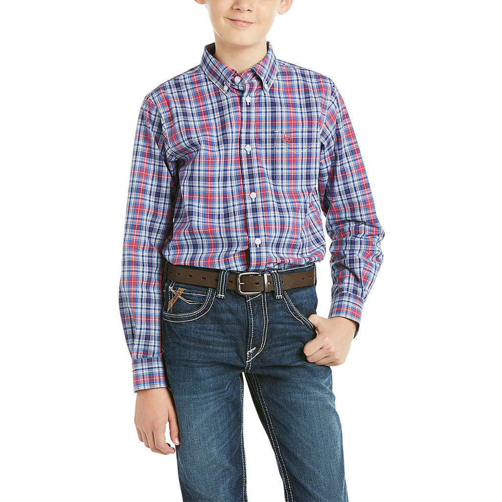 Boy's Ariat Pro Series Brandon Classic Fit Shirt