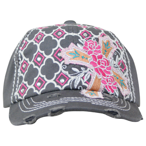 Women's Way West Cap Bright Cross