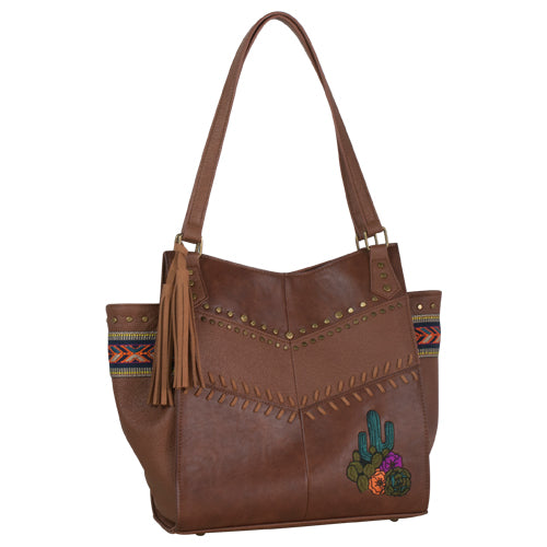 Catchfly WINSLOW Purse Chestnut & Cactus