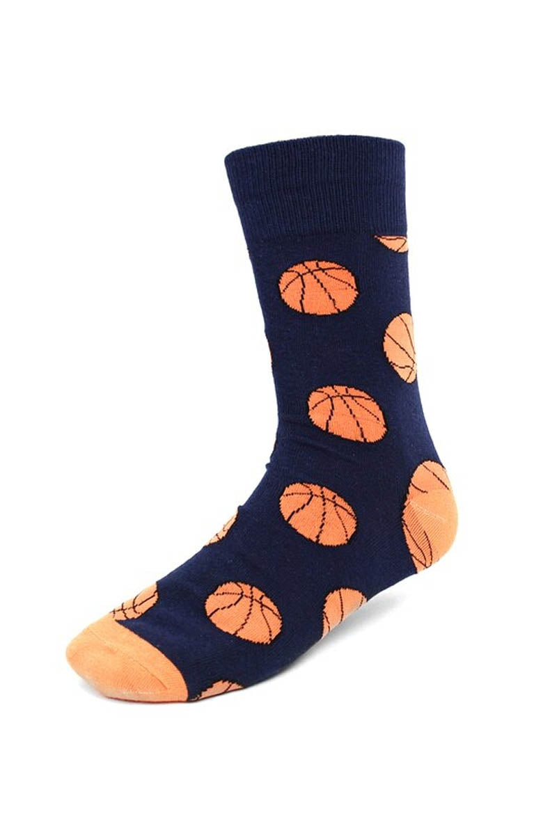 Men's Basketball Novelty Socks