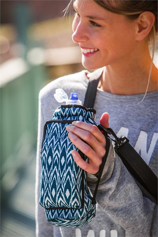 Neoprene Bottle Carrier w/Drawstring