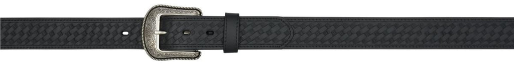 Black Men's Western Basic Belt - Keffeler Kreations | HilltopBoutique.com