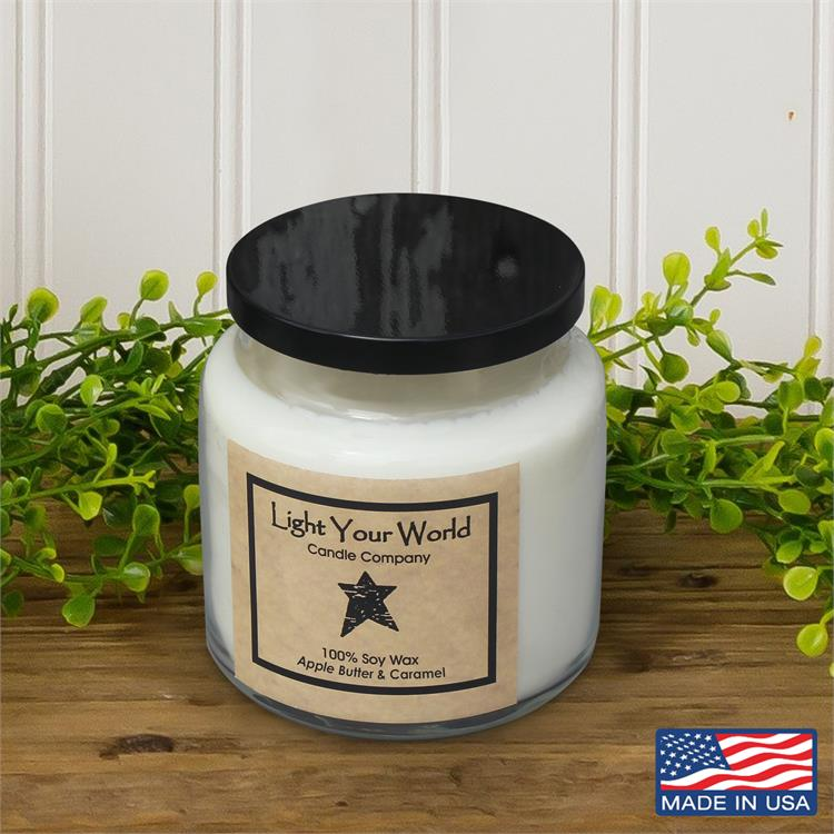 16oz Light Your World Candles