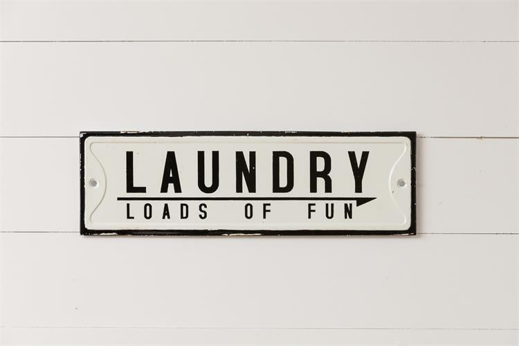 Sign - Laundry Loads of Fun