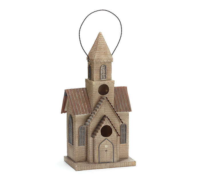 Resin Church Birdhouse