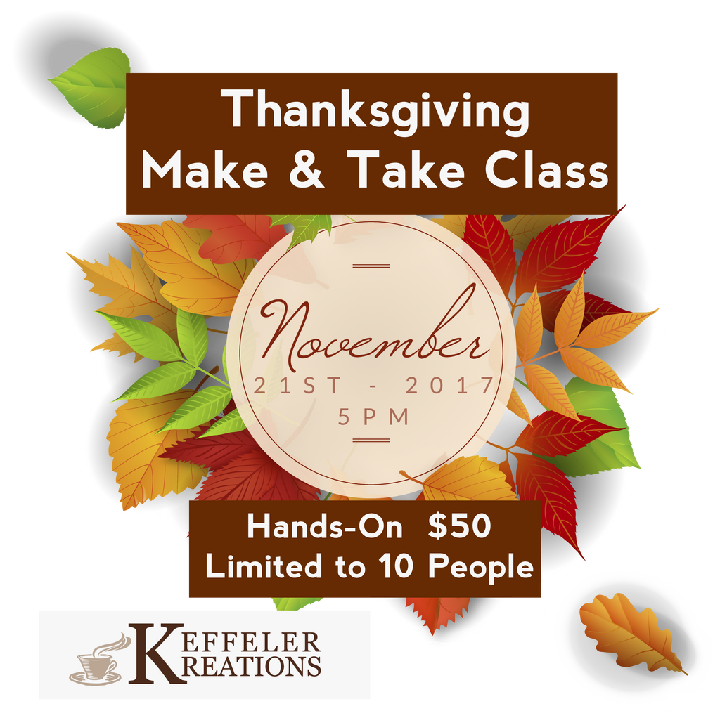 Event: Thanksgiving Make & Take