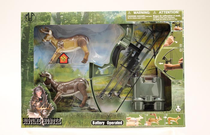 Bigtime Hunter Bow and Arrow Play Set