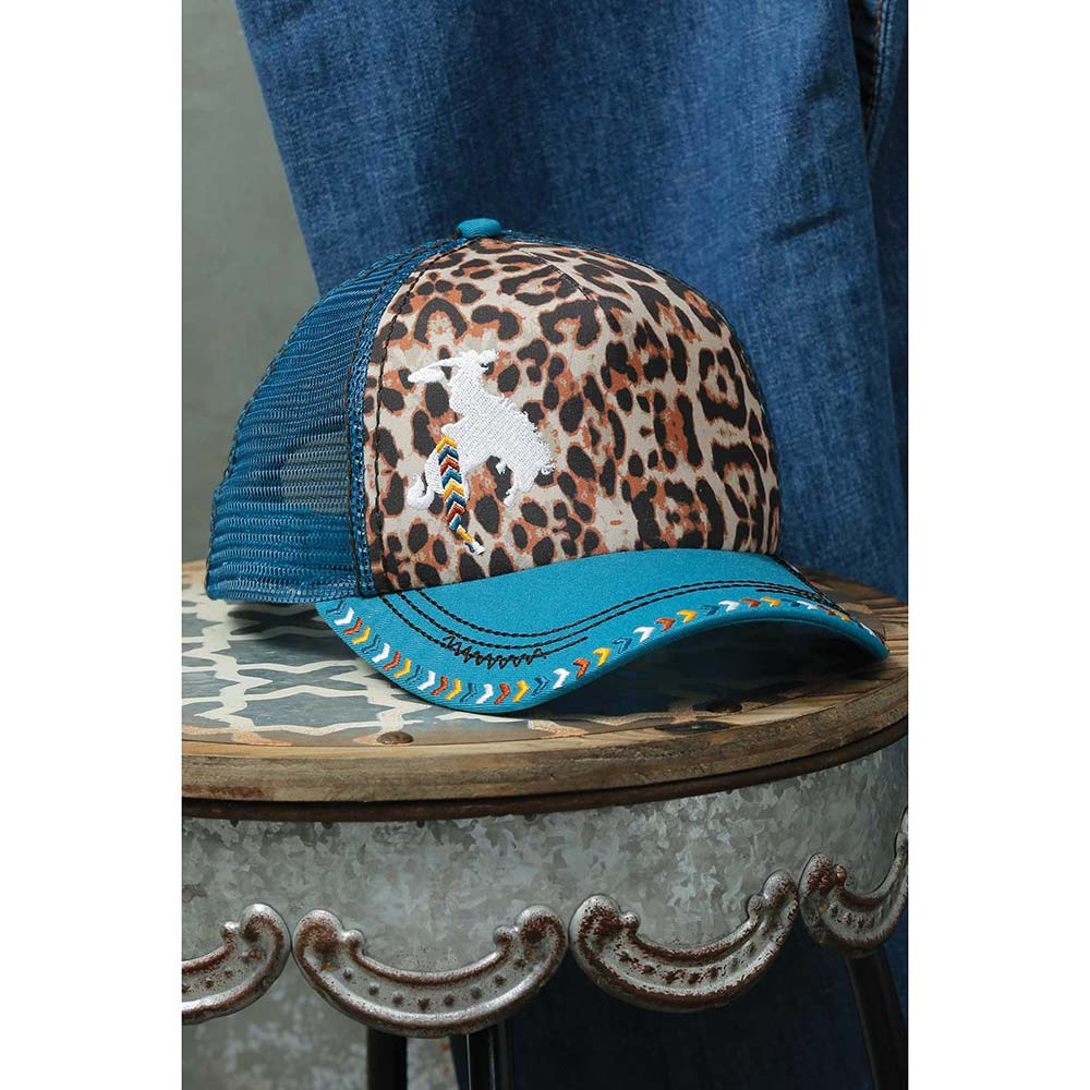 Women's Cinch Leopard Cap