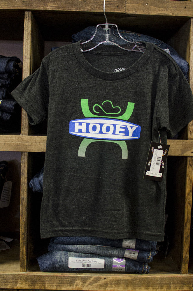Hooey Youth Boys Black Top - Keffeler Kreations | HilltopBoutique.com