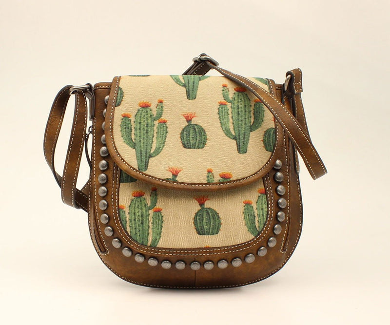 Blazin Roxx Womens Studded Cactus Concealed Carry Purse