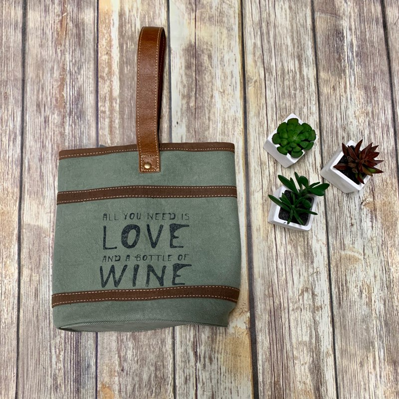 Myra Bags -Wine & Love Double Bottle Wine Bag